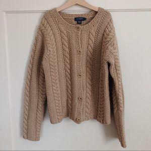 Vintage J crew cropped wool sweater